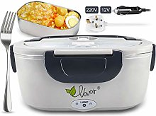 Car Electric Heating Lunch Box 12V / 220v 2 in1
