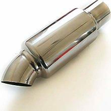 Car Exhaust Tip Muffler Resonator Stainless Steel