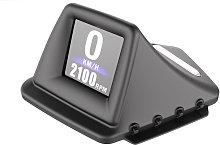 Car HUD Display, OBD+GPS Smart Gauge High