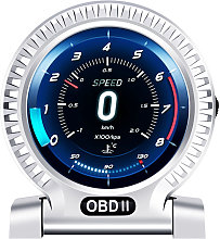 Car OBD LCD Instrument High Definition Speedometer