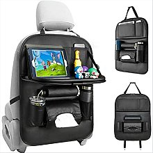 Car Rear Seat Storage Bag Big Pocket And Ipad
