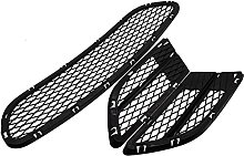 Car Set of 3 Front Lower Bumper Grille Grill