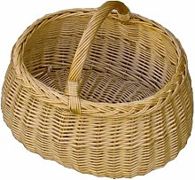 Car Shopping Wicker Basket Brambly Cottage