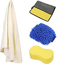 Car Sponge, Natural Drying Chamois Leather cars