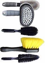 Car Tyre Brush Kit,Wheel Gap Cleaning Scrub Wheel