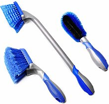 Car Wash Brush 3 Pcs Brush Car Wash Tire Brush