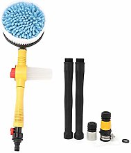 Car Washing Brush Kit Pressure Auto Rotating Foam