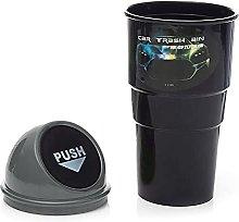 Car Waste Bin Mini Portable Car Ashcan Trash Can