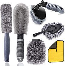Car Wheel Cleaning Brush Set, Wheel Brush for Car