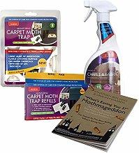 Caraselle Carpet Moth Killer Pack with Carpet