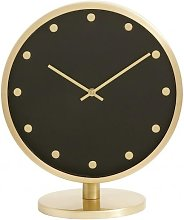 CARAT Table clock with glass