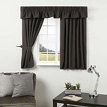 Caravan Curtain Dark Grey Curtains Door Curtain,