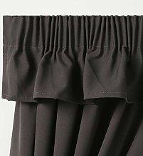Caravan Curtain Dark Grey pelmet Valance Perfect