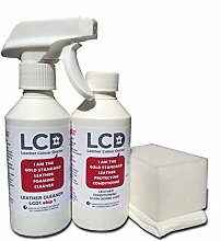 Carbusonic Leather sofa cleaning kit and stain