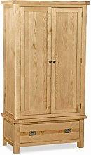 Cardalea 2 Door Wardrobe Union Rustic