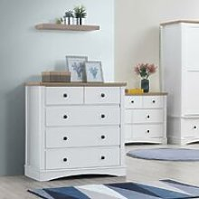 Carden Bedroom Chest of Drawers 5 Drawer Storage
