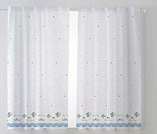 Cardenal Textile Cups Kitchen Curtain Curtain,