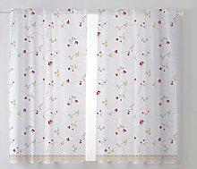Cardenal Textile Fresón Kitchen Curtain, Beige,