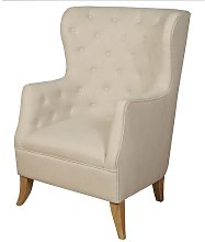 Cardiff Wingback Chair ClassicLiving Upholstery: