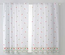 Cardinal Textile Kitchen Curtain Pack 2 100 x 140