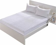CAREXY Double Mattress Topper,Removable Breathable