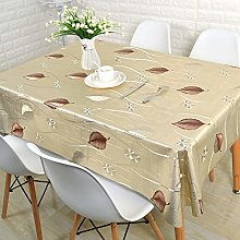 CAREXY Tablecloth Wipe Clean Rectangle,PVC