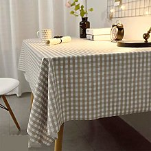 CAREXY Wipe Clean PVC Tablecloth,Rectangular