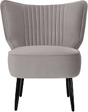 Caringorm Cocktail Chair Canora Grey Upholstery