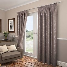 Carlton Lined Tape Top Curtains, Curtains, Pencil