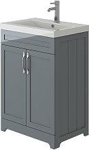 Carlton Traditional Light Grey Vanity Basin
