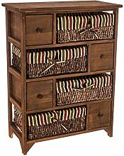 Carmen® HQ SHABBY CHIC BEDSIDE CABINET UNIT TABLE