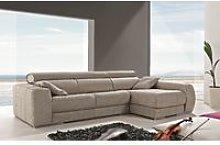 Carmen Italian Leather Corner Group Sofa