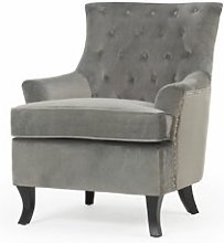 Carmen Wingback Chair Ophelia & Co. Upholstery