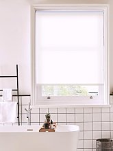 Carnation White Daylight Roller Blind