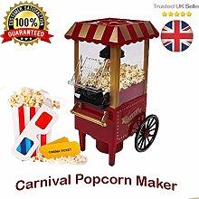 Carnival Electric HOT AIR Popcorn Maker Fat Free