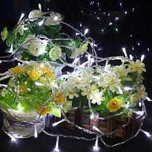Carnival String Lights Outdoor Wedding Garden