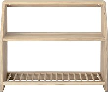 Carol oak shelf