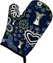 Caroline's Treasures BB5087OVMT Blue Flowers