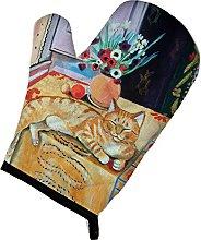 Caroline's Treasures Cat Oven Mitt 7079OVMT,