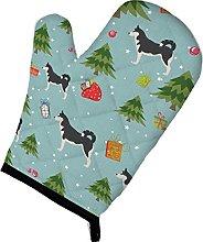 Caroline's Treasures Christmas Siberian Husky