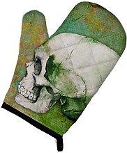 Caroline's Treasures Day of The Dead Green