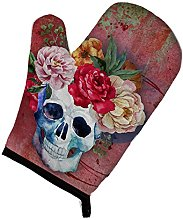 Caroline's Treasures Day of The Dead Red