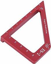 Carpenter Tool, Woodworking Ruler Scribing Ruler