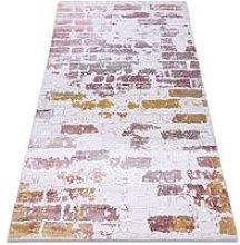 Carpet ACRYLIC DIZAYN 125/5057 pink Multicolor