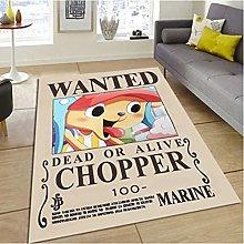 Carpet Anime Cartoon Chopper Home Children'S