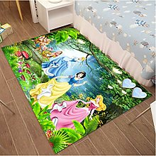 Carpet Anime Cartoon Snow White Household