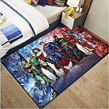 Carpet Anime Q Version Dc Justice League Living