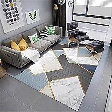 Carpet area rugs for living room Black blue gray