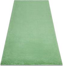 Carpet BUNNY green IMITATION OF RABBIT FUR Shades