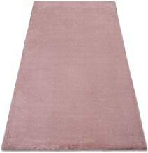 Carpet BUNNY pink IMITATION OF RABBIT FUR Shades